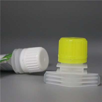 16mm Double Ziplock BPA free Plastic Spout Top Baby food pouch