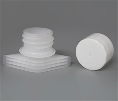 22mm Plastic spout caps Screw ON Compound Doypack